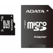 Card de Memorie ADATA microSDHC 16GB Class4 cu Adaptor