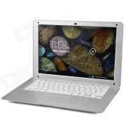 """""""HL-PC1388 13.3"""""""" LCD Android 4.2 Netbook w/ Camera / HDMI / Bluetooth / GPS / RJ45 / Wi- Fi - Silver"""""""