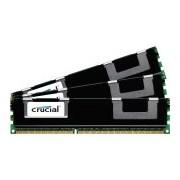Crucial 12GB kit, 240-pin DIMM, DDR3 PC3-12800 12GB DDR3 1600MHz Data Integrity Check (verifica integrità dati) memoria