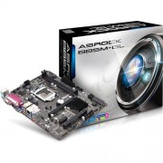 MB ASRock B85M-GL, Sc LGA1150, Intel B85, 2xDDR3, VGA, mATX