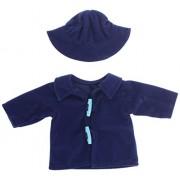 Miniland - cappello Trenca, 38 cm, blu (31548)