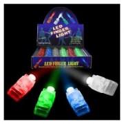 Fun Central AR808 Finger Light Gloves Finger Lights - Assorted 80ct
