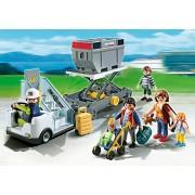 Playmobil 5262 Schody z przyczepą cargo
