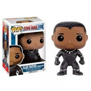 Funko Pop Marvel Captain America Civil War Black Panther Unmasked Exclusive Vinyl Bobblehead