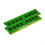 KINGSTON-Kingston ValueRAM 8 Go (2 x 4 Go) DDR3 1333 MHz CL9 SR X8 (Hauteur 30 mm), Kit Dual Channel RAM DDR3 PC3-10600 KVR13R9D8K2/8I-