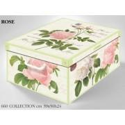 Rendező, tároló doboz laminált bevonattal Collection Rose 660RO