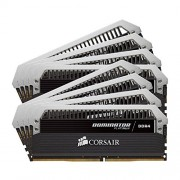 Corsair CMD128GX4M8A2666C15 Dominator Platinum Kit di Memoria da 128 GB, 8x16 GB DDR4, 2666 MHz, CL15 XMP 2.0 Enthusiast, Nero