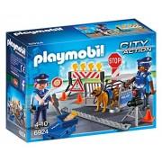 Playmobil City Action Police Roadblock - sets de juguetes (Acción / Aventura, Niño/niña, Multicolor, De plástico)