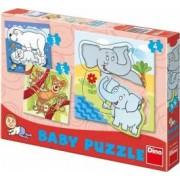 Set de puzzle-uri - Zoo 3-5piese