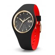 Ice-Watch Loulou IW007227 Black Glitter Small horloge