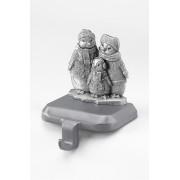 ランズエンド LANDS' END クラシック・ストッキング・ホルダー(ペンギンファミリー)