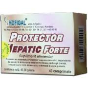 Hepatoprotect Forte 40cpr Hofigal