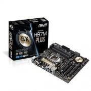 MB ASUS H97M-PLUS soc.1150 H97 DDR3 mATX 2xPCIe USB3 SATA6 GL D-Sub DVI HDMI