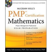 McGraw-Hill's PMP Certification Mathematics with CD-ROM by Vidya Subramanian