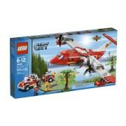 LEGO City Fire Plane 522pieza(s) - juegos de construcción (Multicolor)