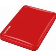 HDD Extern Toshiba Canvio Connect II 1TB USB 3.0 2.5 inch Red