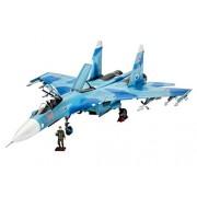 Revell Model Set - 64937 - Maquette - Sukkoi Su-27 SM Flanker - gris - Échelle 1/72 - 210 pièces