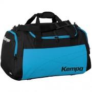 Kempa Sporttasche TEAMLINE - schwarz/kempablau   S