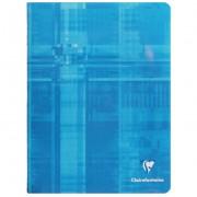 Clairefontaine - Cahiers, Bloc-Notes - Cahier Piqué Bleu 17x22cm 32 Pages Dou...