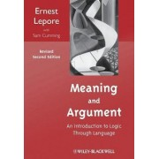 Meaning and Argument by Ernest Lepore