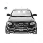Audi Q7 Racing Radio Remote Controlled Black Toy Car