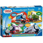 Thomas & Friends - Four In A Box Large Shaped Puzzles by Ravensburger