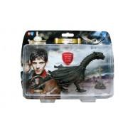 The adventures of Merlin - Set de figuras de acción (dragón y espada en la piedra), edición limitada