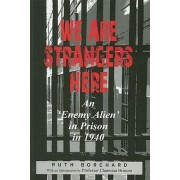 We are Strangers Here by Ruth Borchardt