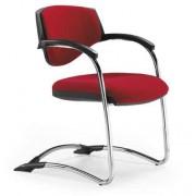 Cadeiras de Escritório Visitante Com Braços FIXA LORD-03