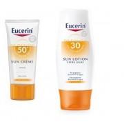 Pack Eucerin Sun Creme SPF50+ + Eucerin Sun Lotion SPF30+