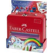 Set Cadou Desen Si Pictura Jumbo Grip Faber-Castell