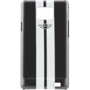 Husa Mini Cooper Samsung Galaxy S2 i9100 - Stripes Metalic Grey