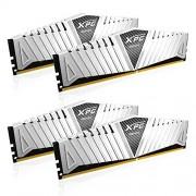 ADATA XPG Z1 64 GB (16 GB x 4) DDR4 3000 MHz CL16 moduli di memoria, colore: bianco
