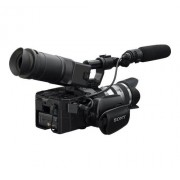 Sony NXCAM NEX-FS100EK - Caméscope - APS-C - 1080p - 3.53 MP - 11x zoom optique objectif 18-200 mm OSS - carte Flash