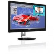 "Monitor Philips 272P4QPJKEB/00, 27"", PLS, LED, 2560x1440, 20 000 000:1, 6ms, 300cd, 2xHDMI, USB, Pivot, repro, webcam, čierny"