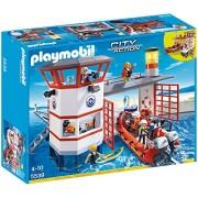 Playmobil Guardacostas - Estación con faro, playset (5539)