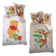 Lenjerie de pat Winnie the Pooh cu două fețe