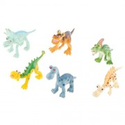 MagiDeal Kids Dinosaur Models 4'' Plastic Jurassic Dinosaurs Boys Educational Toy