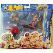 Mattel WWE Wrestling Rumblers Exclusive Attack Pack John Cena Vs. The Miz