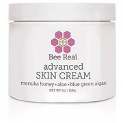 Bee Real Advanced Skin Cream is the BEST natural solution to assist in handling skin conditions such as stretch marks dry sensitive skin eczema rashes and more! (4oz)