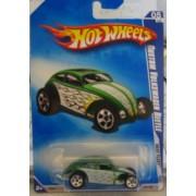 Hot Wheels 2009 Heat Fleet Custom Volkswagen Beetle Kmart Day VW 05/10 121/190 by Mattel