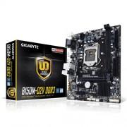 Gigabyte GA-B150M-D2V DDR3 Scheda Madre, Nero