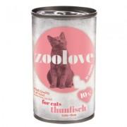 zoolove Tonijn - 6 x 140 g