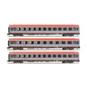 Arnold - HN 4081 - Ferrovia Modellazione - Set di 3 Auto Eurofima 1 X 2 X 1 ° Classe 2 ° Class ÖBB CE