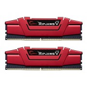 Gskill Ripjaws V Series 16GB (2 x 8GB) 288-Pin DDR4 2400Mhz (PC4-19200) for Intel Z170 Skylake / X99 Chipset - Desktop Memory (F4-2400C15D-16GVR)