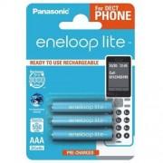 Panasonic 3 x akumulatorki Panasonic Eneloop Lite R03 AAA 550mAh BK-4LCCE/3BE (blister)