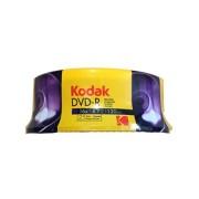 DVD-R 16X Kodak Tarrina 25 uds (1410325)