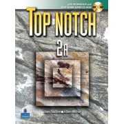 Top Notch 2 with Super CD-ROM Split B (Units 6-10) with Workbook and Super CD-ROM by Joan M. Saslow
