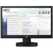 "Monitor LED HP 18.5"" V197, HD (1366 x 768), VGA, DVI, 5 ms (Negru)"