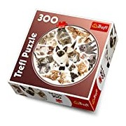 Trefl 916 39042 Round Kitten Puzzle